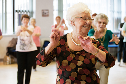Dancing and Aging