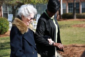 providing home care in the villages for a senior
