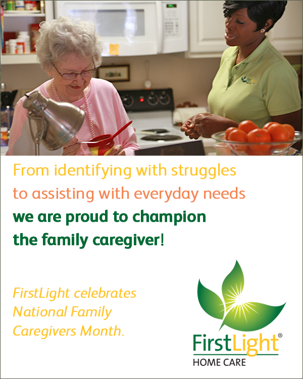 FirstLight Home Care - We Are Called to Support Family Caregivers