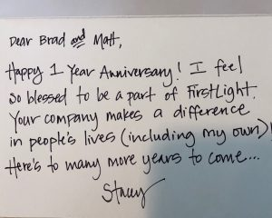 Stacey Letter
