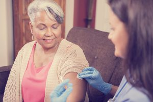 Flu shot for older adults