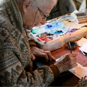 Benefits of art in older adults