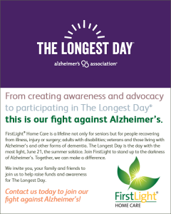 The Longest Day: FirstLight Home Care Joins the Fight Against Alzheimer's