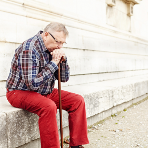 What are the signs of senior self-neglect?