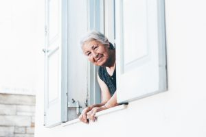 help elderly adults stay happy at home