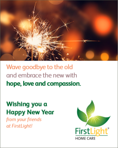 FirstLight Home Care - Wishing You a Happy New Year!