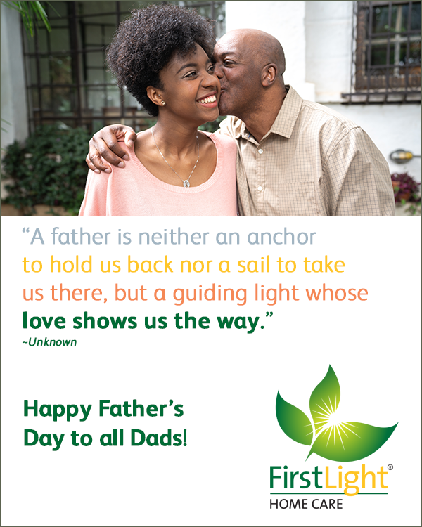 FirstLight Home Care - Celebrating Father's Day with Seniors