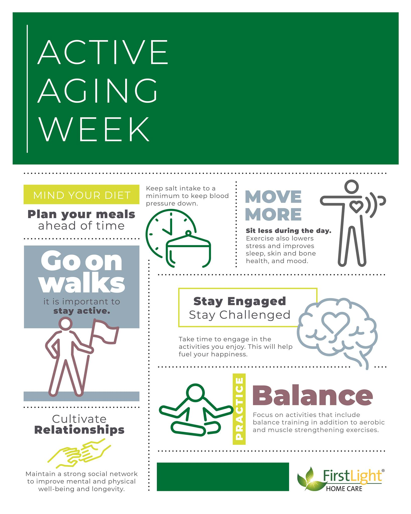 FirstLight Home Care - Celebrating the Positivity of Aging